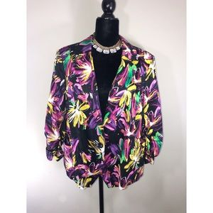 ASHLEY STEWART Vibrant Blazer